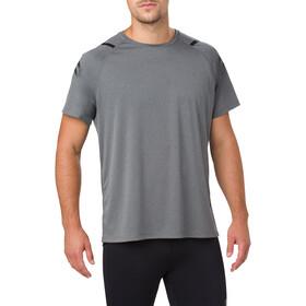 asics Icon Koszulka do biegania z krótkim rękawem Mężczyźni szary